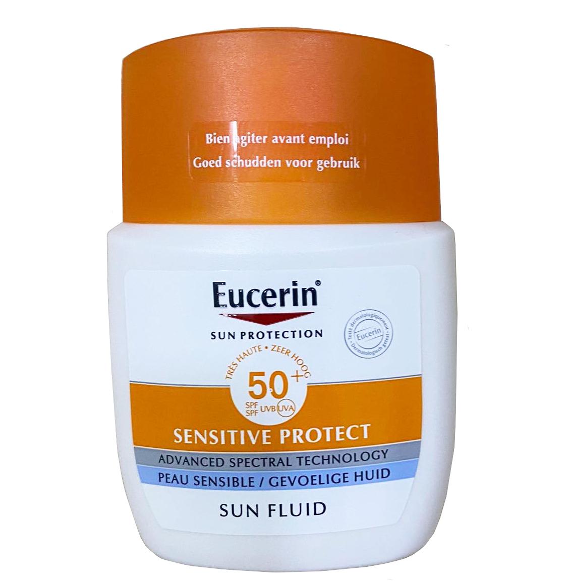 Kem chống nắng Eucerin Face Sun Fluid SPF 50+