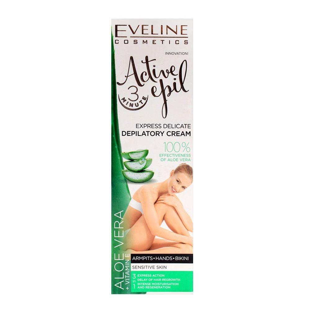 Kem tẩy lông lô hội eveline active epil