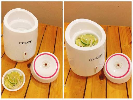 Máy xông hơi mặt  hoa quả Maoer 2 in 1 sử dụng thảo dược
