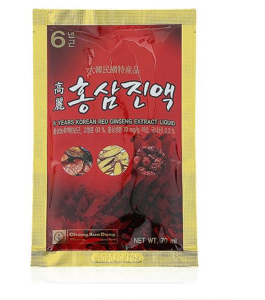 Nước hồng sâm Chong Kun 6 năm tuổi