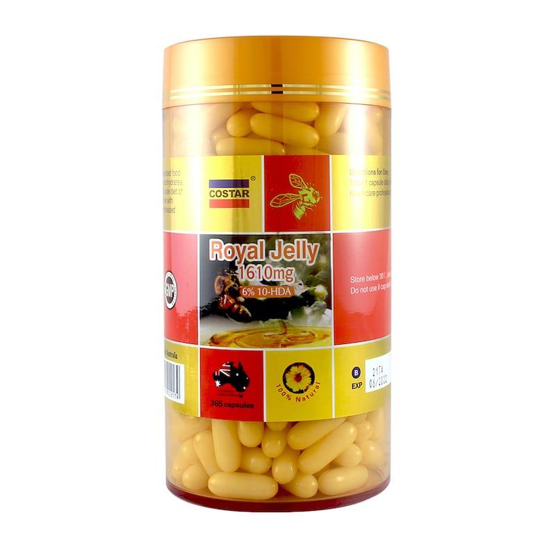 Sữa ong chúa Costar Royal Jelly 1610mg