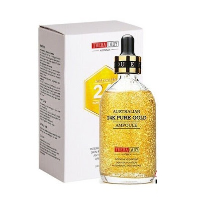 Tinh chất dưỡng da vàng 24K TheraLady Australian 24k Pure Gold Ampoule