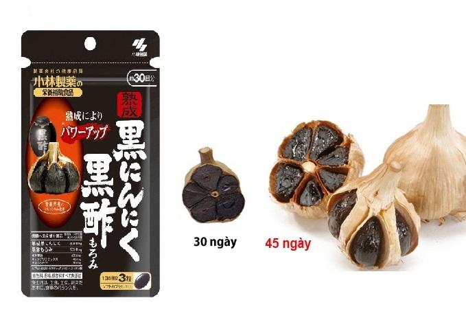 Viên tỏi đen Kobayashi Nhật Bản hàm lượng dinh dưỡng cao