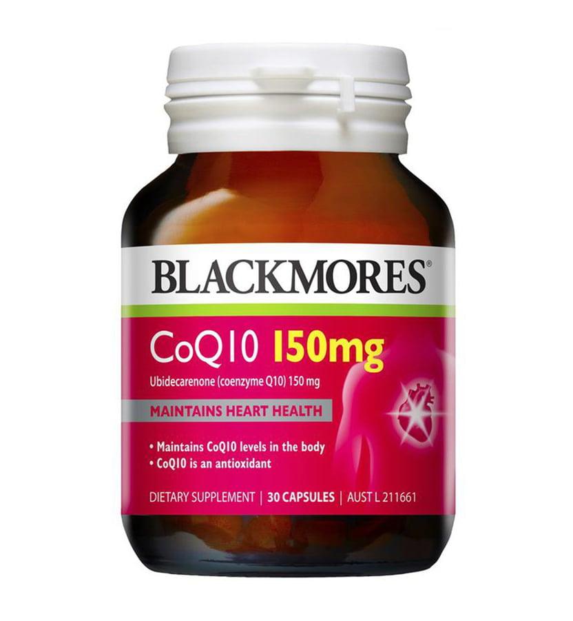 Viên uống CoQ10 150mg Blackmores chính hãng từ Úc (mẫu mới)