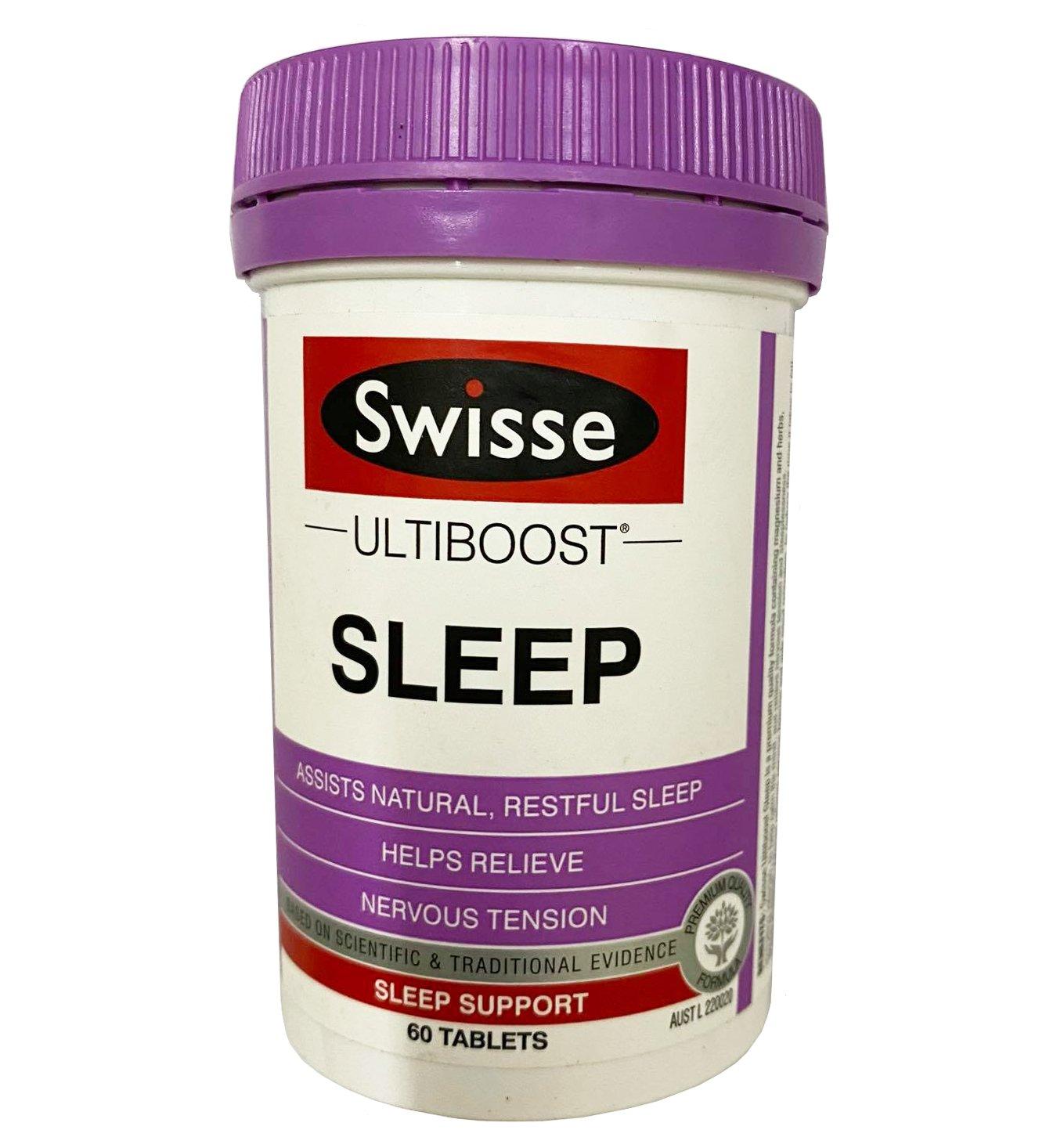 Viên uống Swisse Sleep của Úc loại 60 viên