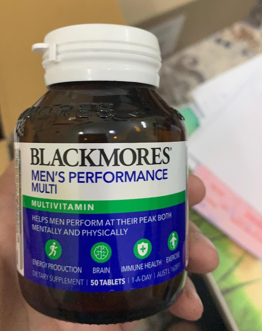 Viên uống hỗ trợ sinh lý nam Blackmores Men's Performance Multi