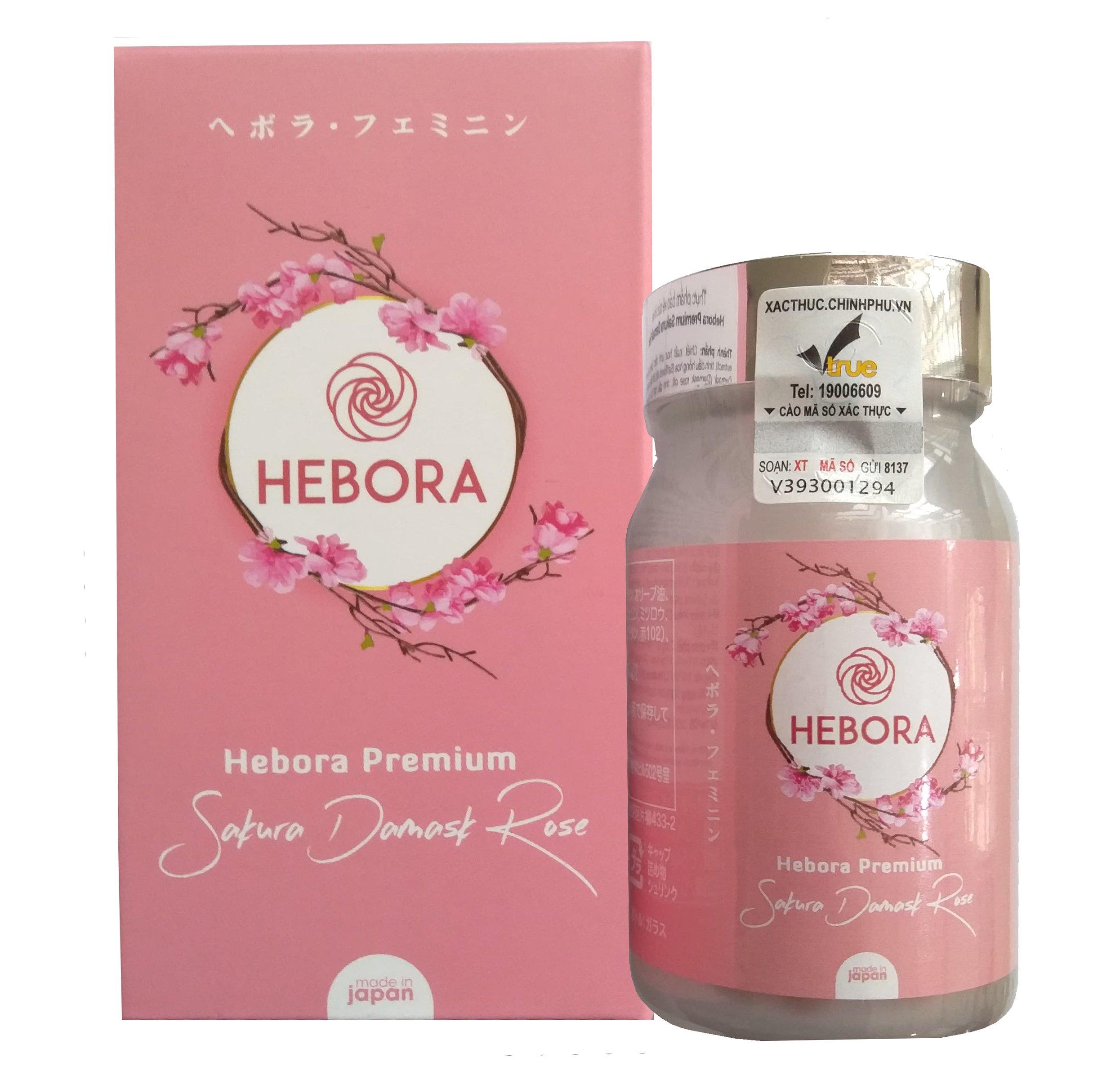 Hebora của Nhật giúp hỗ trợ thơm cơ thể một cách tự nhiên