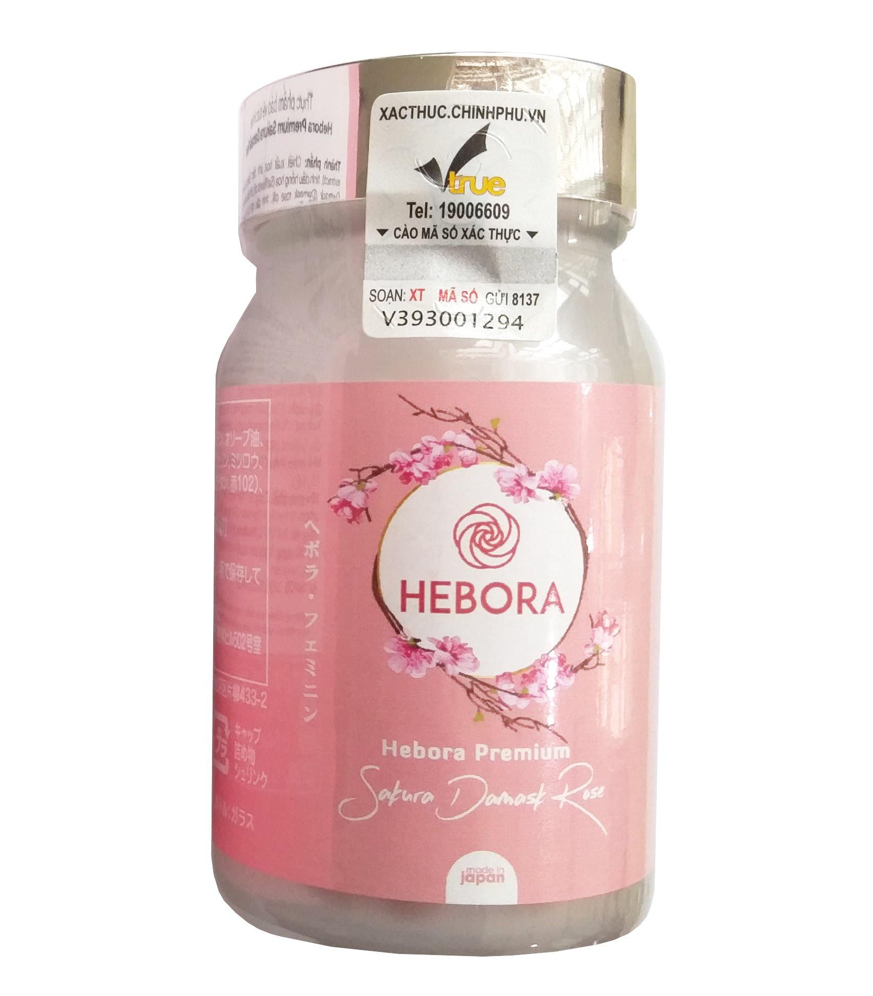 Viên uống Hebora của Nhật giúp tạo hương thơm cơ thể