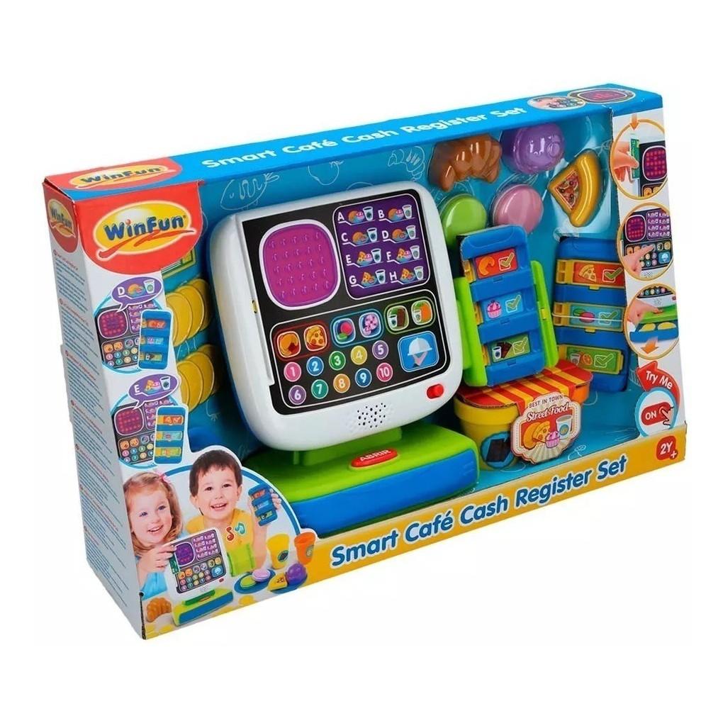 Hộp đồ chơi tính tiền siêu thị cho trẻ em