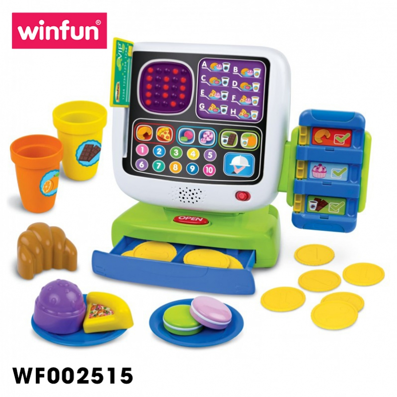 Bộ đồ chơi Winfun tính tiền siêu thị cho trẻ em 2515