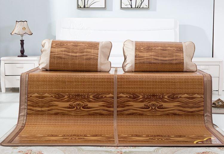 Chiếu trúc điều hòa Thái Lan họa tiết vân gỗ