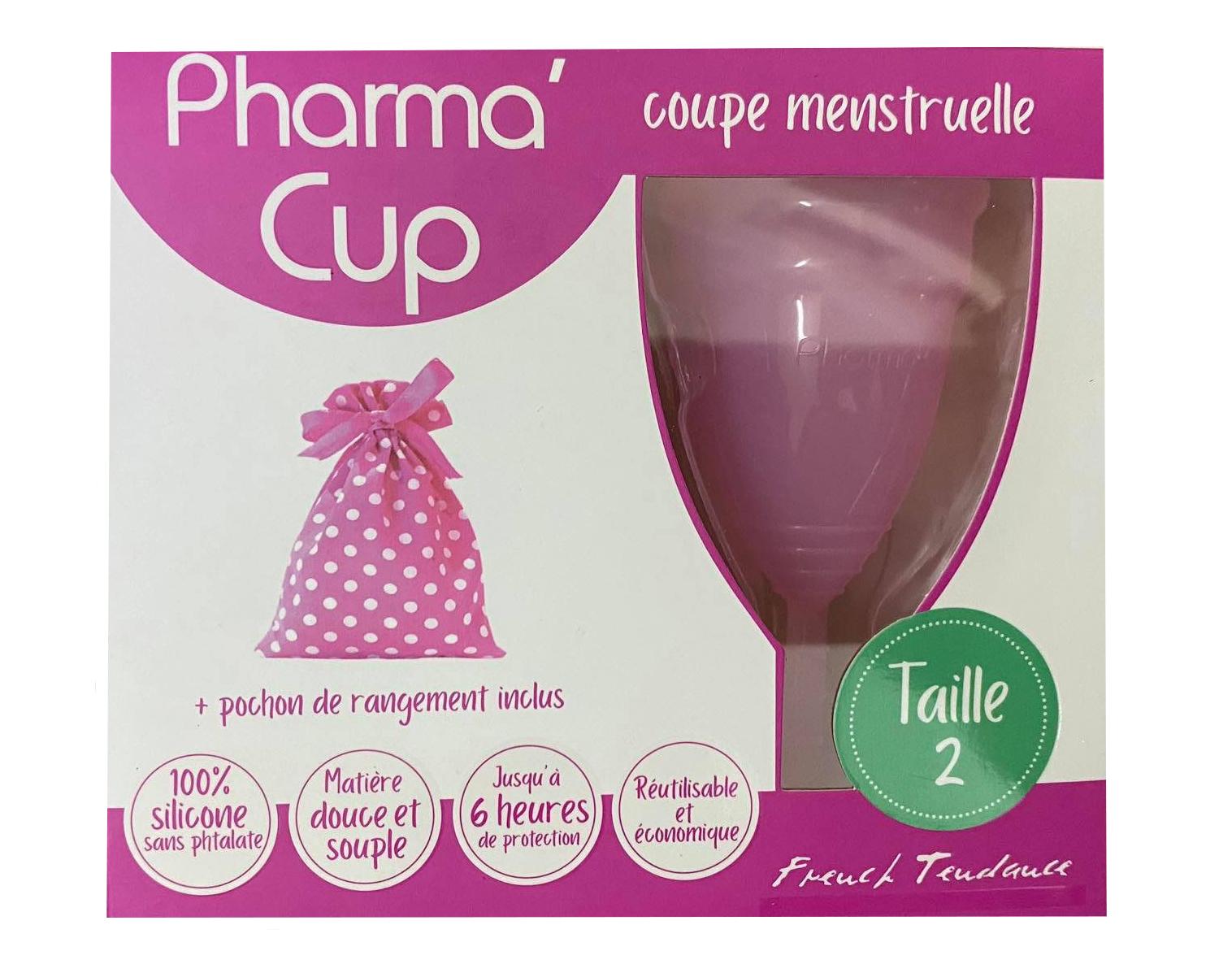 Cốc nguyệt san Pharma Cup của Pháp mẫu mới