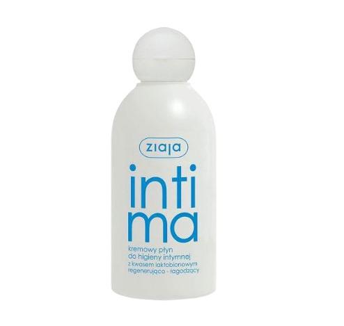 Dung dịch vệ sinh phụ nữ Intima Ziaja màu xanh nhạt