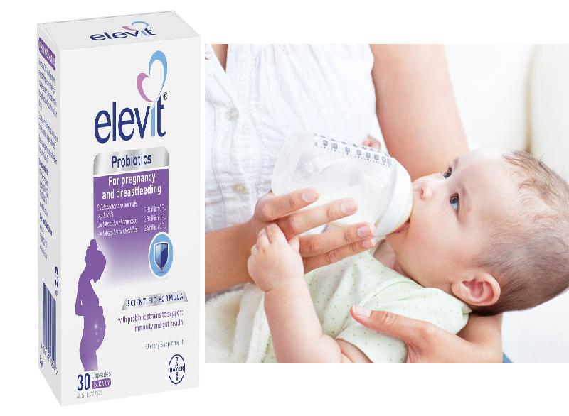Elevit Probiotics hỗ trợ phát triển và bảo vệ hệ tiêu hóa cho bé
