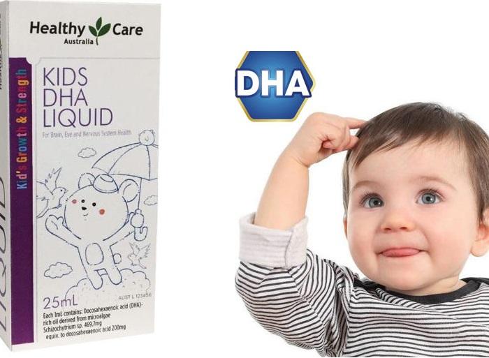 Dung dịch DHA Healthy Care Kids DHA Liquid tăng cường trí thông minh cho trẻ