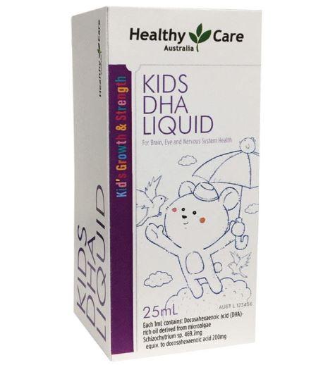 Dung dịch DHA Healthy Care Kids DHA Liquid