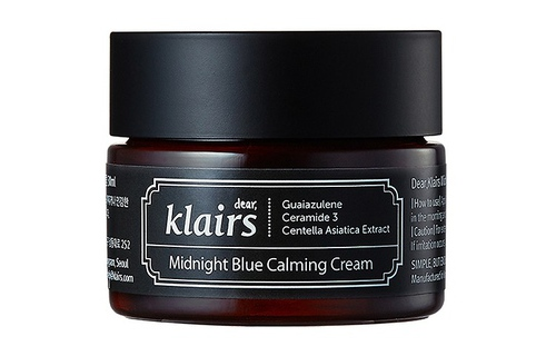 Kem dưỡng ẩm ban đêm Klairs Midnight Blue Calming Cream 300ml