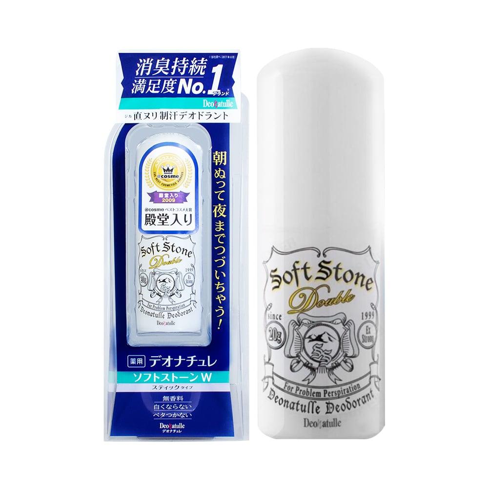 Lăn khử mùi đá khoáng Soft Stone Deonatulle Nhật Bản mẫu cũ