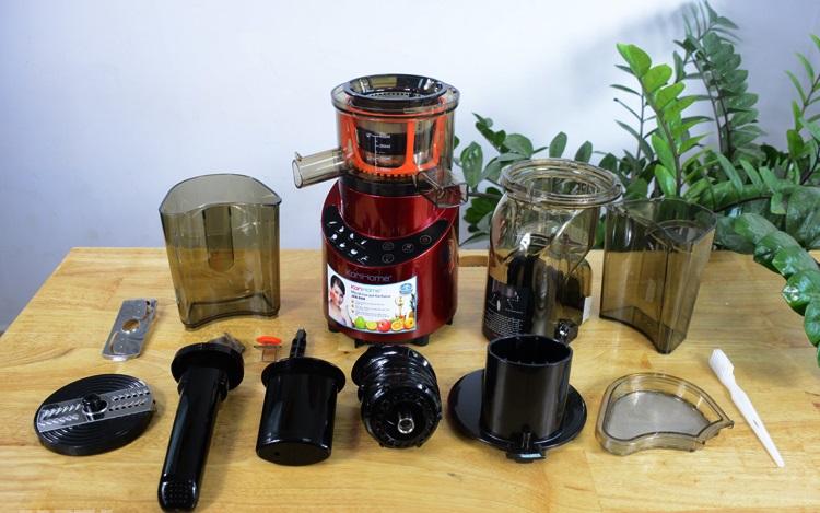 Chi tiết bộ máy ép hoa quả JEK 884