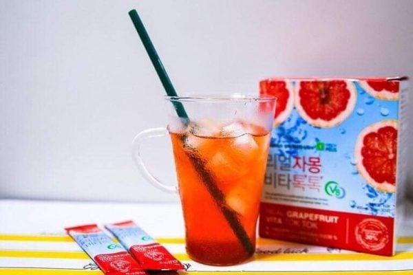 Nước ép bưởi giảm cân SangA Hàn Quốc hương vị thanh mát