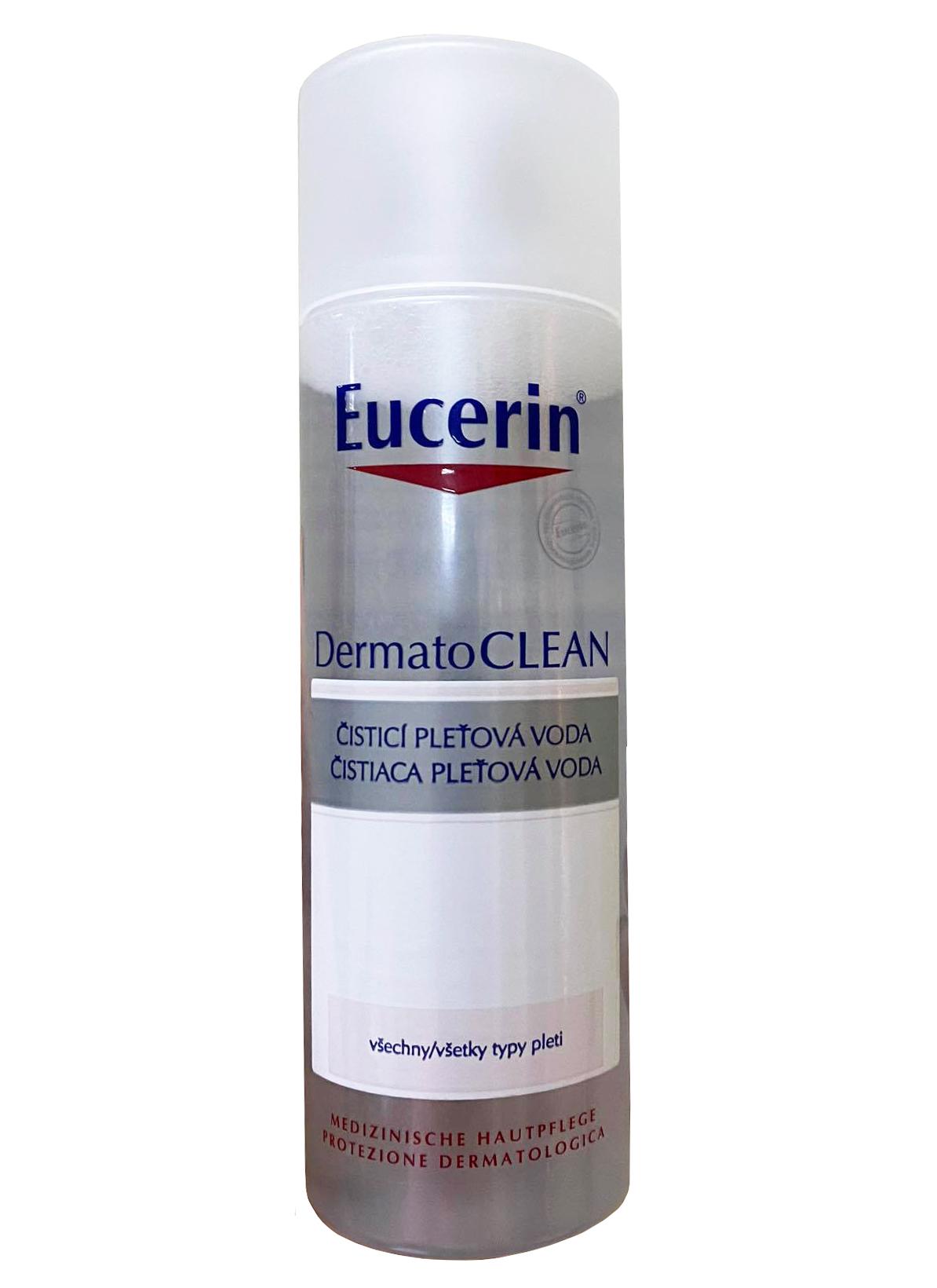 Nước hoa hồng Eucerin Clarifying Toner cân bằng ẩm cho da
