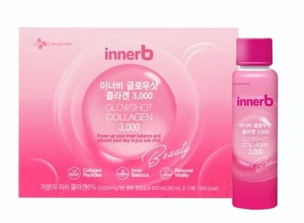 Nước uống Innerb Glowshot Collagen 3000mg