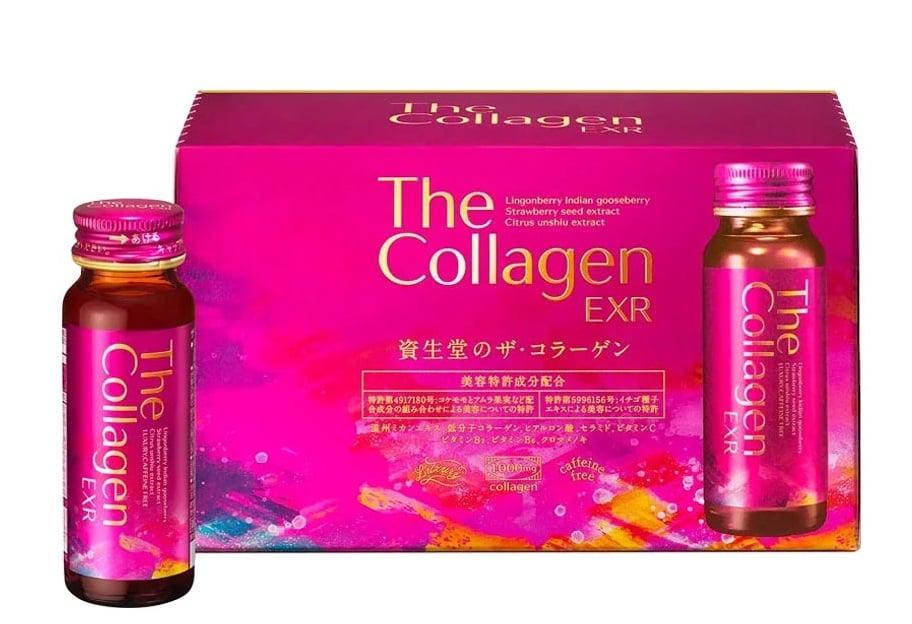 The Collagen EXR Shiseido dạng nước 50ml x 10 lọ