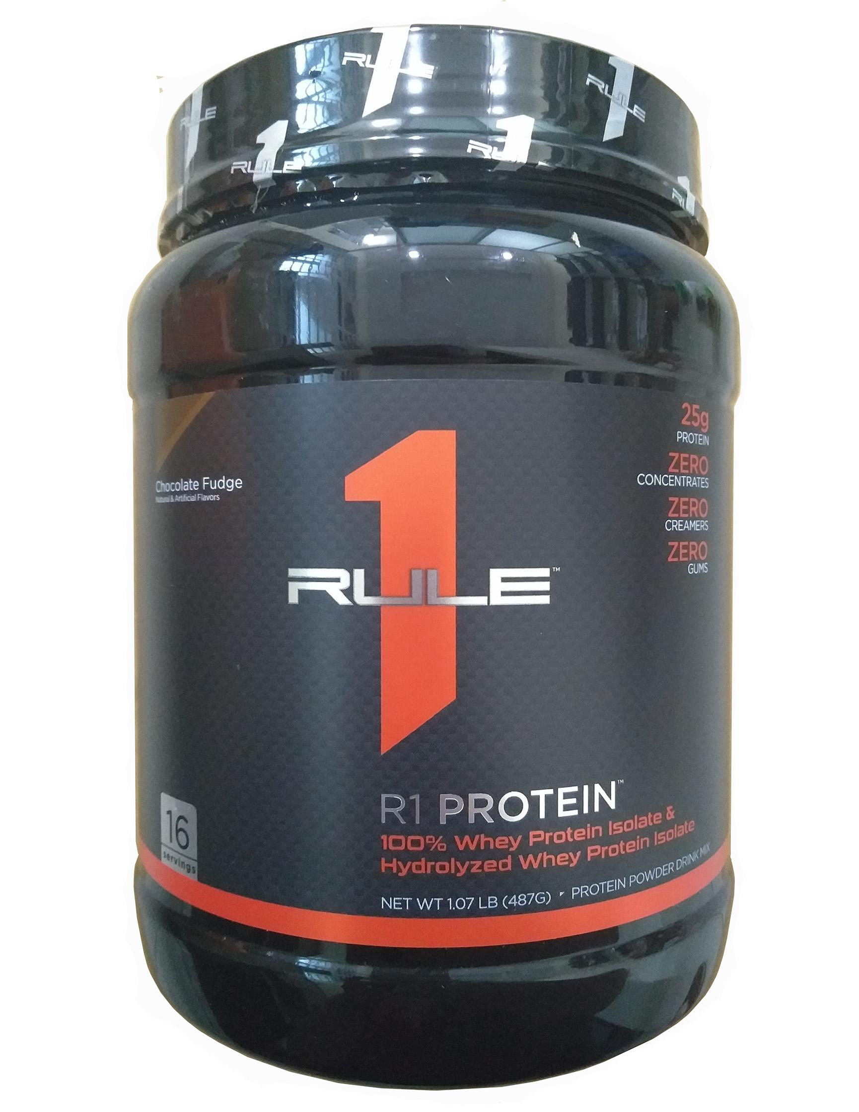 Bột Rule 1 R1 Protein 1.06 LBS 16 Servings nhập khẩu Mỹ hương socola