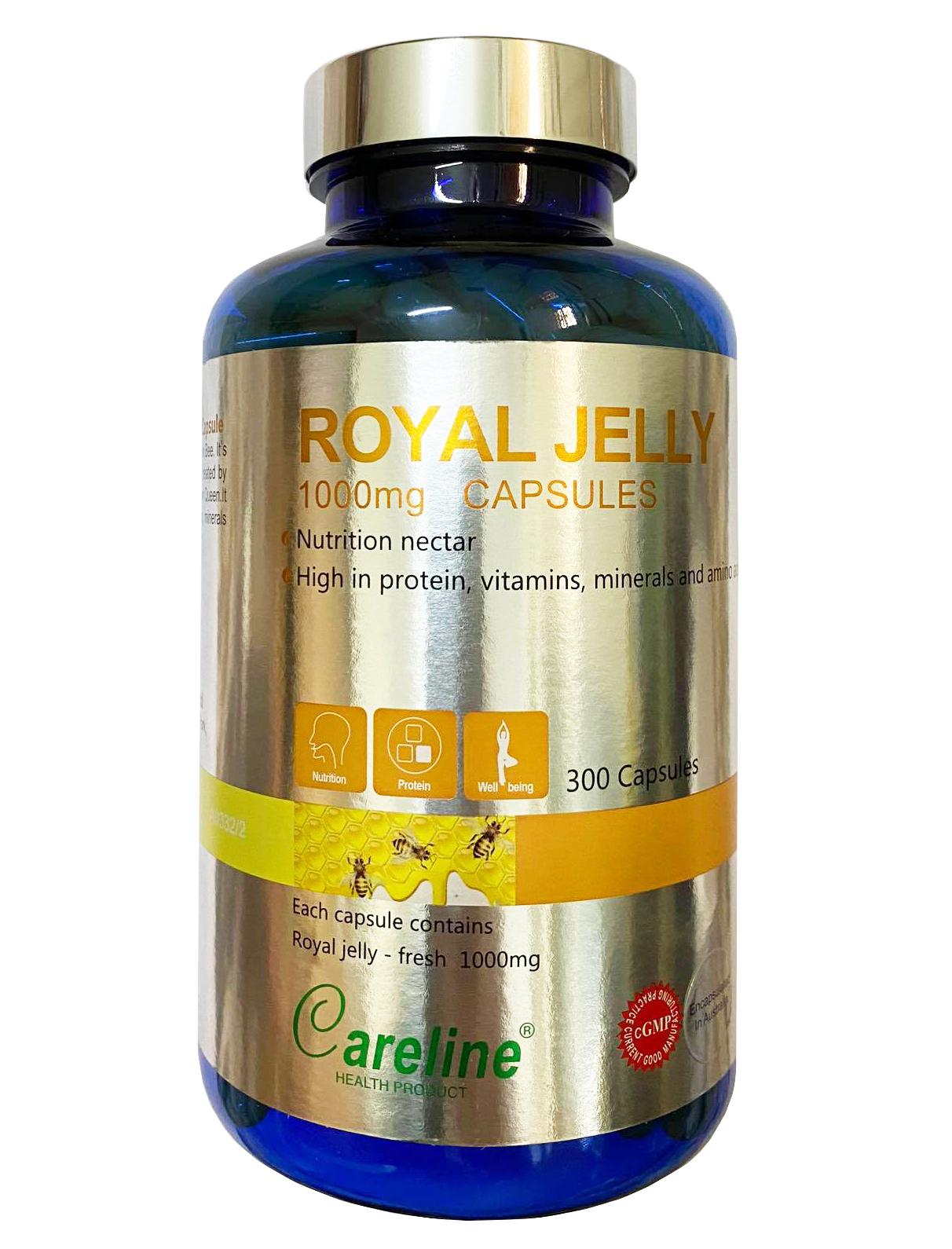 Sữa ong chúa Royal Jelly Careline 1000mg hộp 300 viên