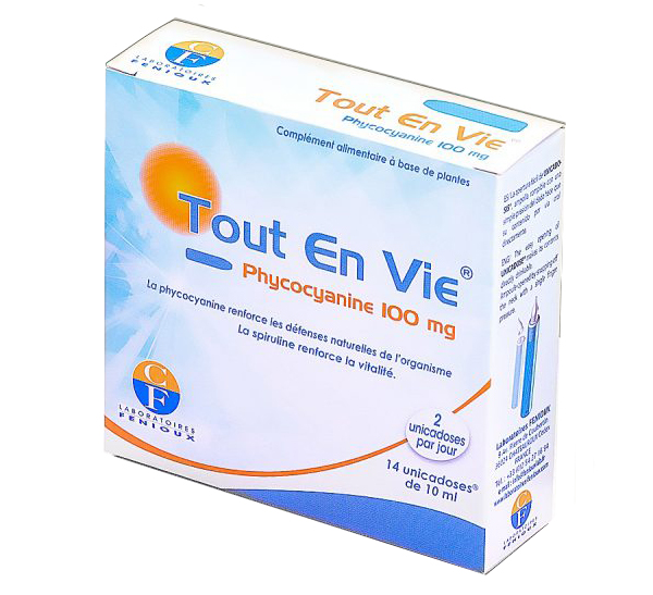 Dung dịch tảo xoắn vitamin C Tout En Vie