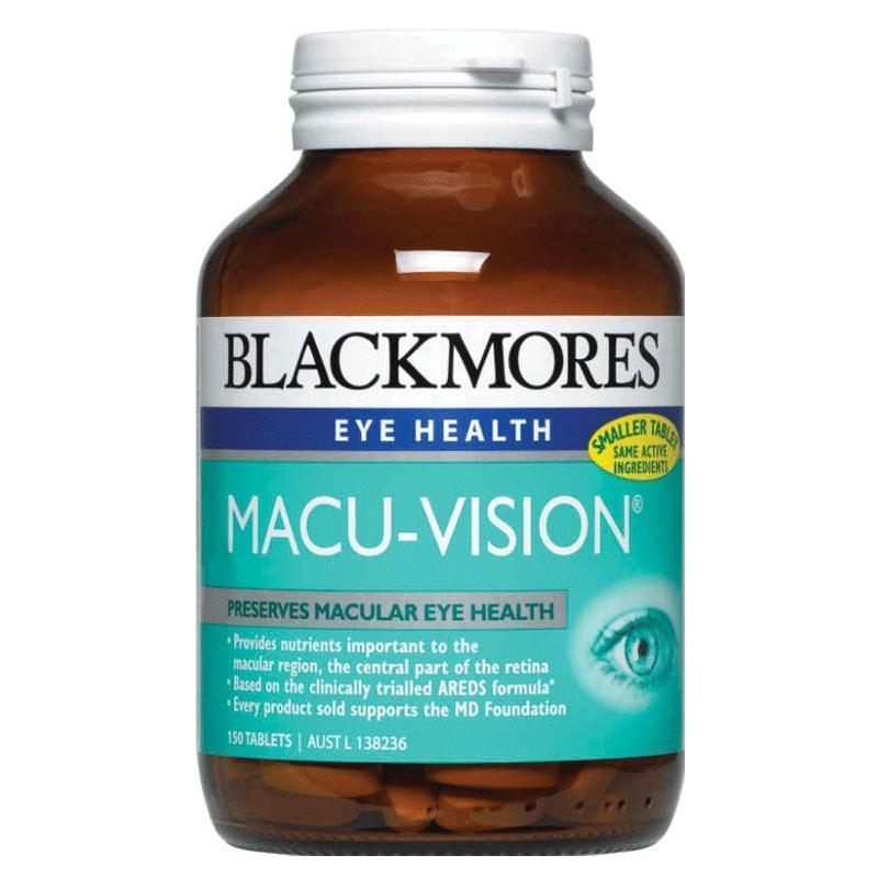 Viên uống Blackmores Macu-Vision chính hãng từ Úc loại 150 viên mẫu cũ