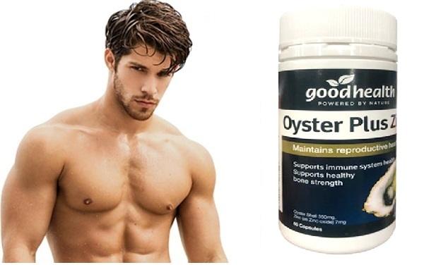 Tinh chất hàu Úc Oyster Plus Zinc Goodhealth hỗ trợ cải thiện sức khỏe sinh lý nam