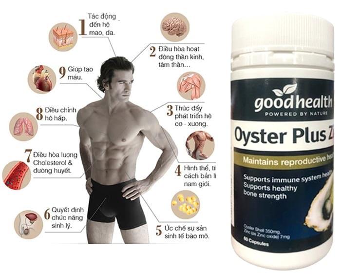 """Tinh chất hàu Úc Oyster Plus Zinc tăng cường sức khỏe sinh lý, cải thiện chất lượng """"cuộc yêu"""""""