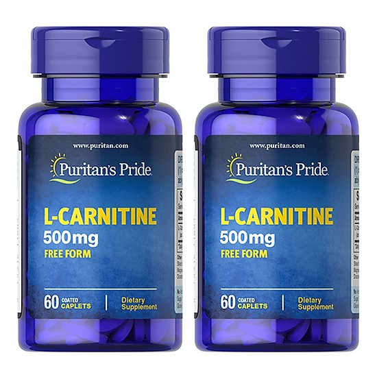 Viên Uống Giảm Cân L-Carnitine 500 Mg Puritan's Pride