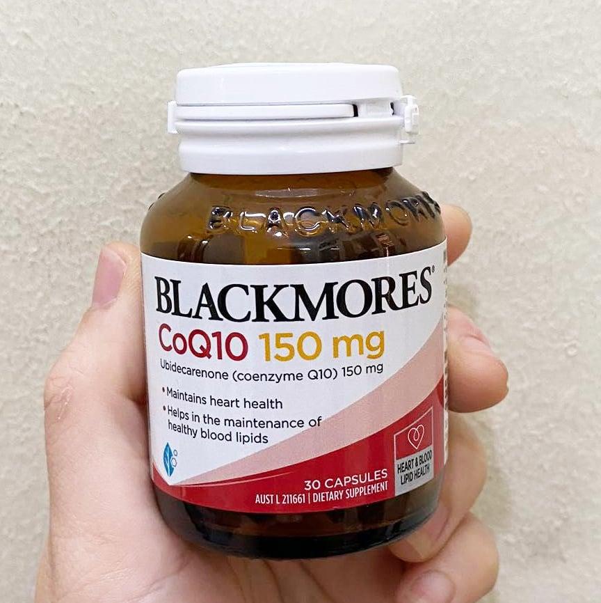 Viên uống CoQ10 150mg Blackmores chính hãng từ Úc mẫu mới