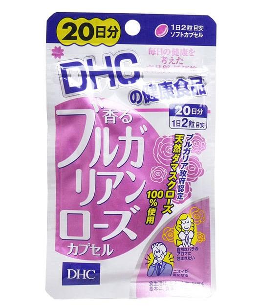 Viên uống DHC tinh dầu hoa hồng hỗ trợ cải thiện mùi mẫu cũ