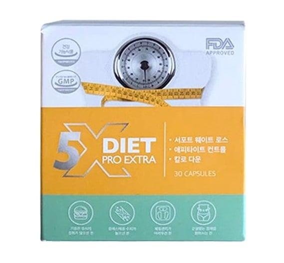 Viên giảm cân Genie x5 Diet Pro Extra Hàn Quốc