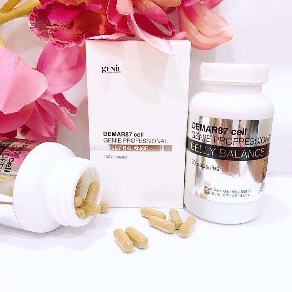 Viên uống giảm mỡ bụng Genie Demar87 Cell hỗ trợ chăm sóc và làm đẹp toàn diện