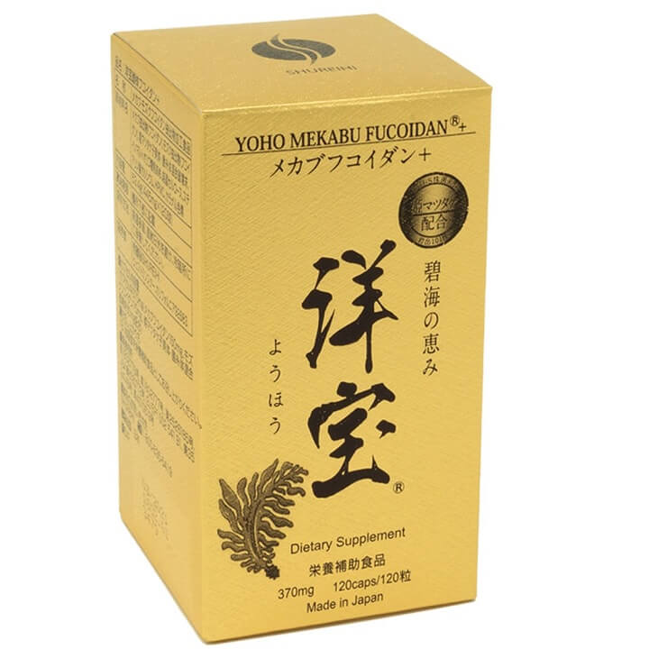 Viên uống hỗ trợ tăng cường sức khỏe Yoho Mekabu Fucoidan