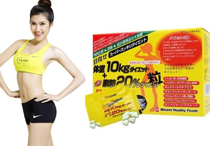 Viên uống giảm cân, tăng cường cải thiện và duy trì dáng vóc