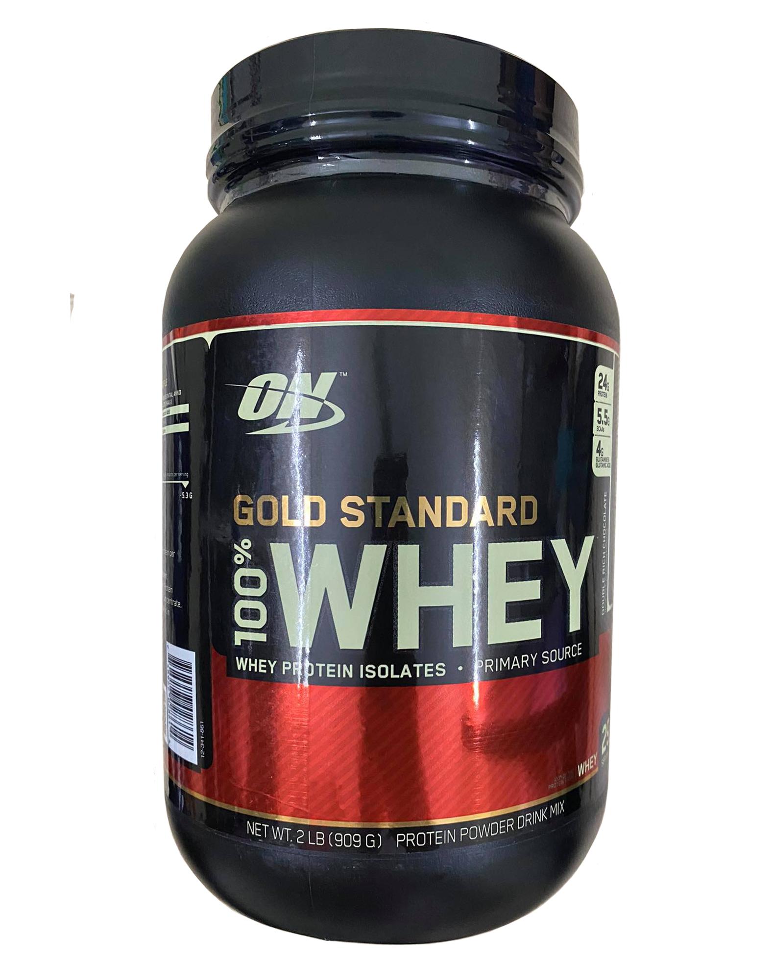 Whey Gold Standard của Mỹ 2Lbs mẫu mới