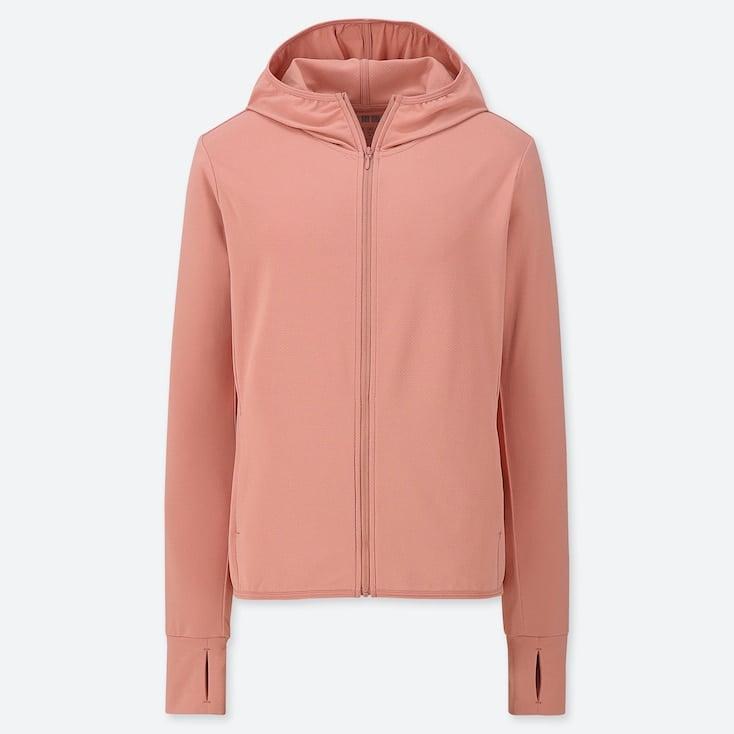 Áo chống nắng Uniqlo AiRism chất thun lạnh màu 12 pink