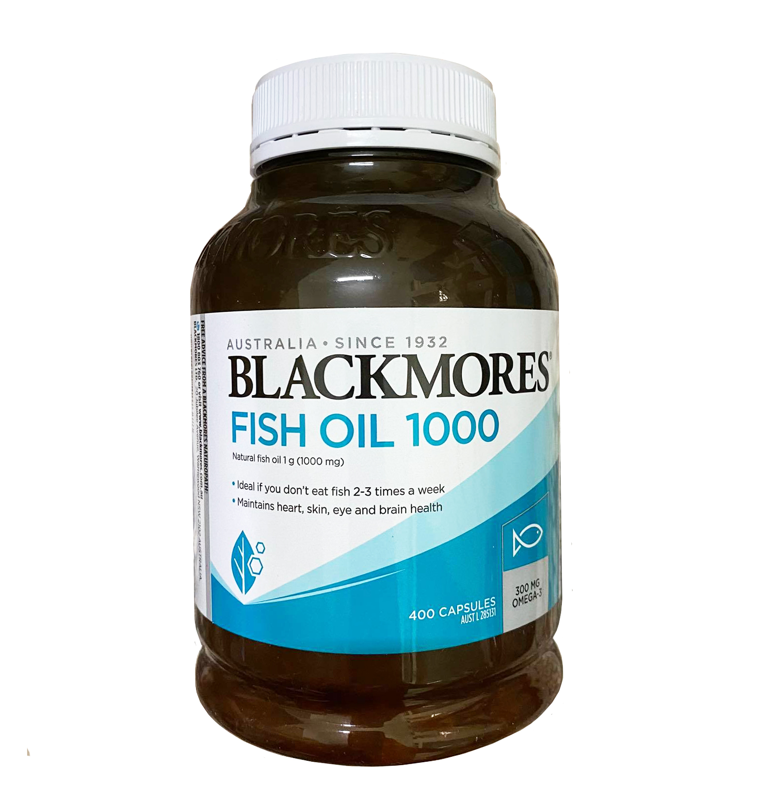 Dầu cá Blackmores fish oil 1000 bổ sung omega 3 tự nhiên mẫu mới