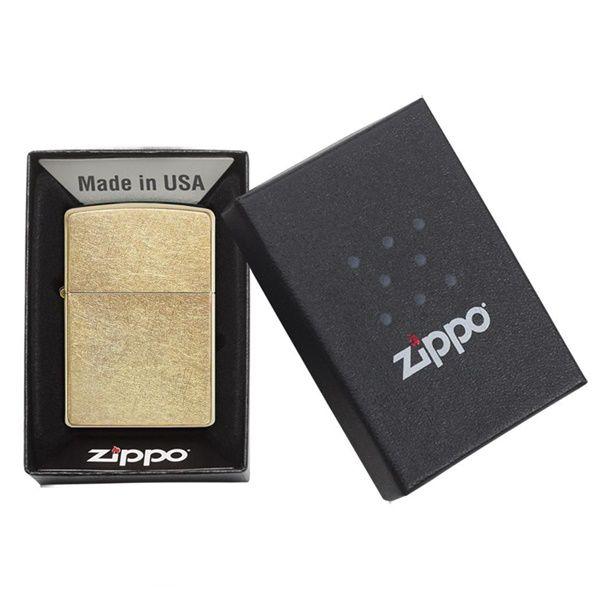 Zippo Classic Gold Dust 207G đi kèm hộp