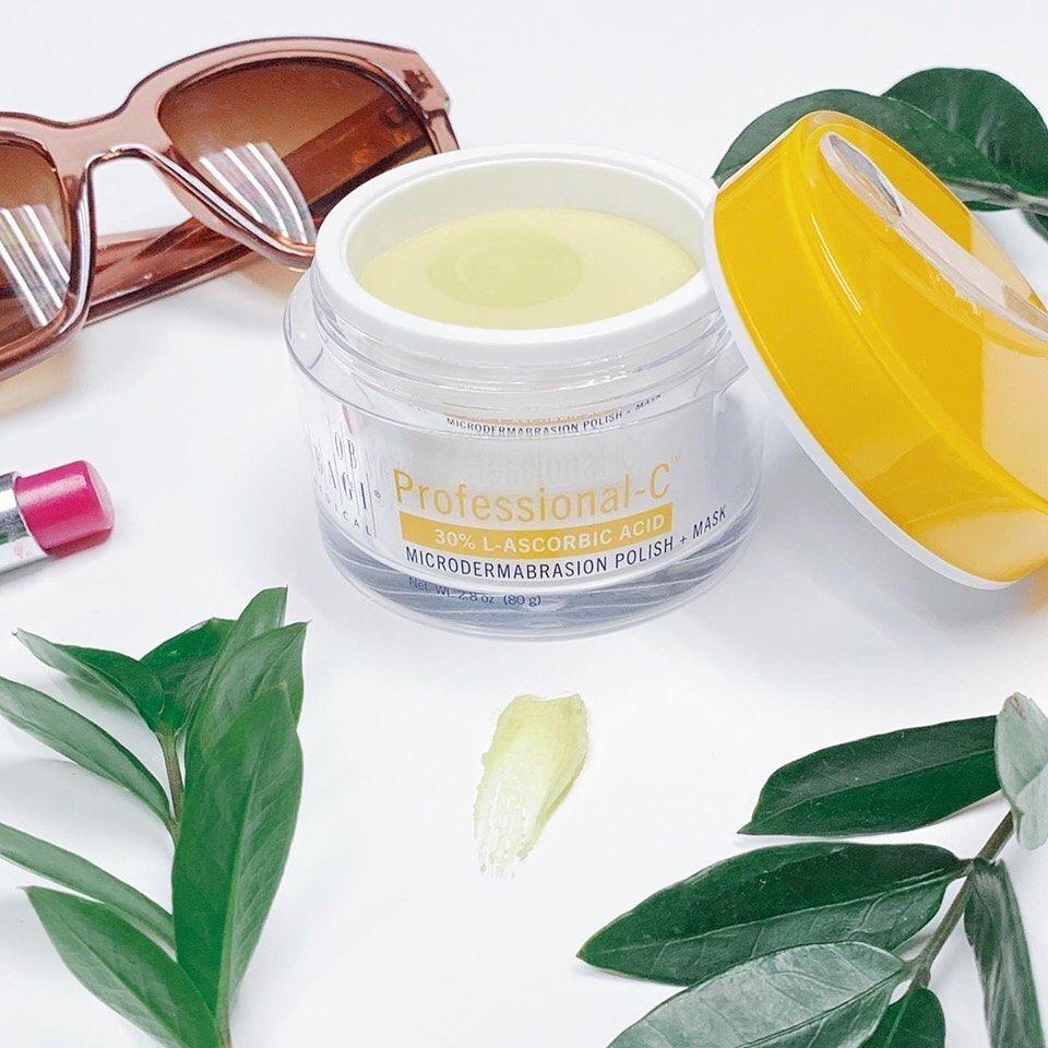Chăm sóc da sáng mịn với hàm lượng vitamin C cao