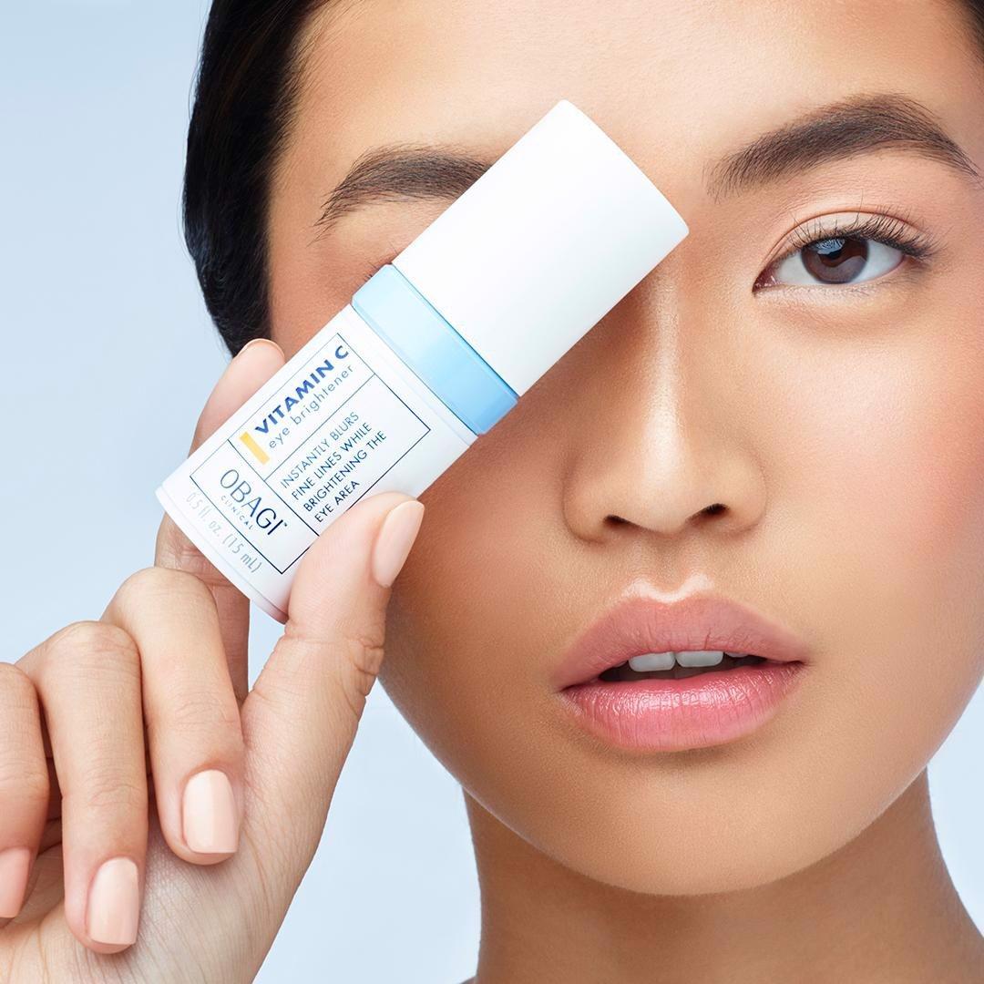 Serum Obagi Clinical Vitamin C Eye Brightener cải thiện nếp nhăn, giảm thâm