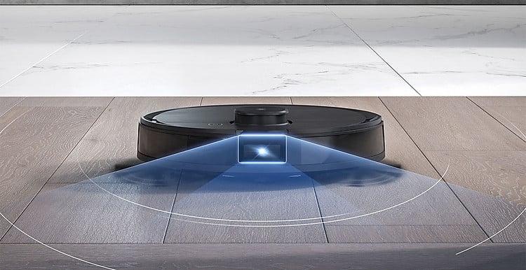 Thiết kế quét không gian rộng làm sạch toàn diện
