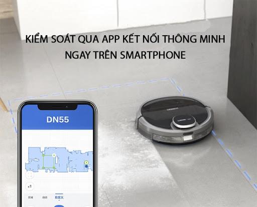 Thiết bị hỗ trợ điều khiển trên app