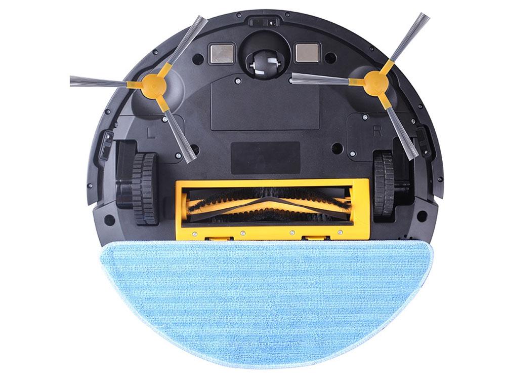 Cơ chế làm sạch đa năng: quét, hút và lau sàn
