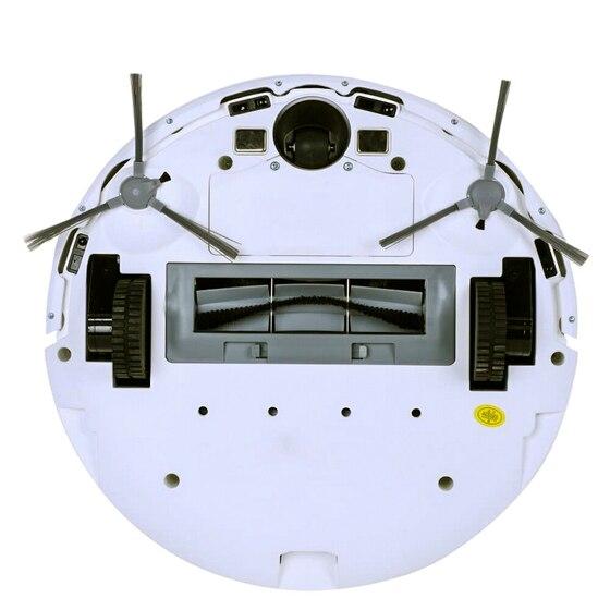 Mặt sau thiết kế robot Liectroux ZK901